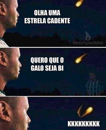 Libertadores da América: memes com o Atlético-MG bombam nas redes sociais após queda para o Palmeiras