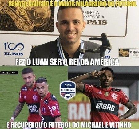 Libertadores da América: os melhores memes da classificação do Flamengo após vitória por 4 a 1 sobre o Defensa y Justicia