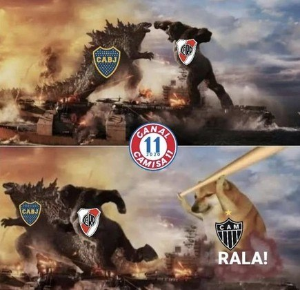 Libertadores da América: os melhores memes de Atlético-MG 3 x 0 River Plate