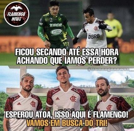 Libertadores da América: os melhores memes de Defensa y Justicia 0 x 1 Flamengo