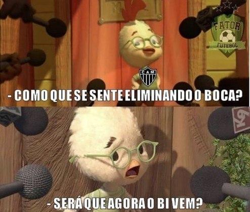 Libertadores da América: os memes da classificação do Atlético-MG diante do Boca Juniors