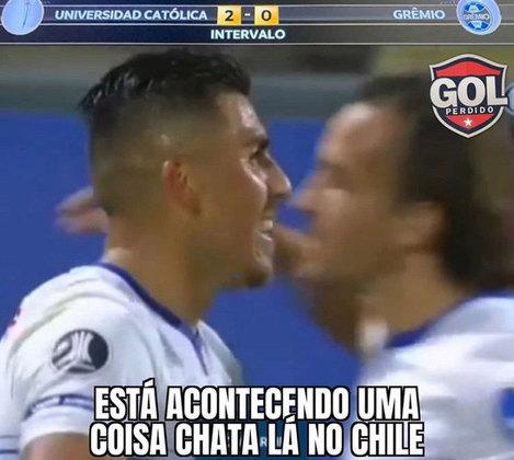 Libertadores da América: os memes de Universidad Católica 2 x 0 Grêmio
