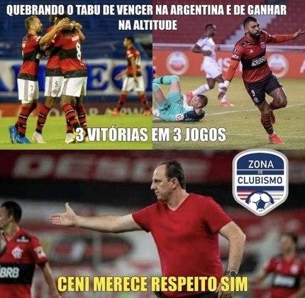 Libertadores da América: rubro-negros fazem memes comemorando vitória sobre a LDU e 100% na Libertadores