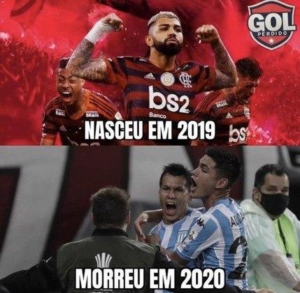 Libertadores: Flamengo é eliminado pelo Racing nos pênaltis e rivais relembram o cheirinho