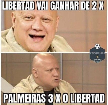 Libertadores: os memes da vitória do Palmeiras sobre o Libertad