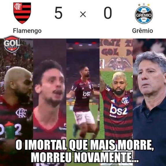 Zoeira Na Web Veja Os Memes Do Massacre Do Flamengo Sobre O