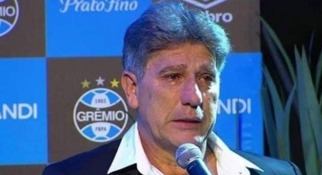 Renato Gaúcho não conseguiu evitar a goleada sofrida pelo Grêmio
