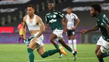 Breno Lopes marca nos acréscimos e Palmeiras vence a Libertadores