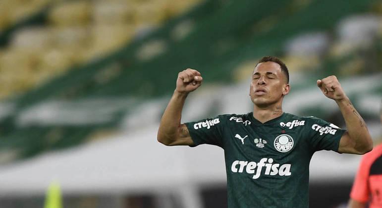 Breno Lopes. Não aceitou ser um mero reserva. Entrou na história do Palmeiras