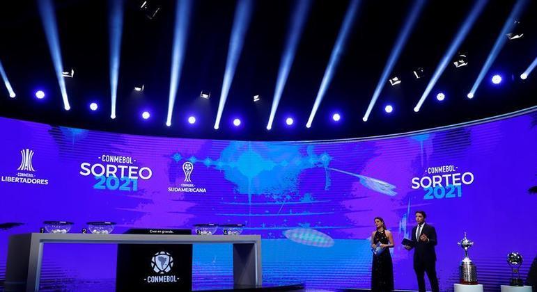 Sorteio da Libertadores foi realizado em Luque, no Paraguai