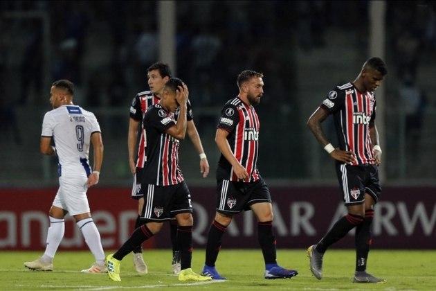 Libertadores/2ª Fase Preliminar/Talleres-ARG: O São Paulo saiu na Pré-Libertadores para o humilde Talleres. Perdeu de 2 a 0 fora de casa e empatou em 0 a 0 no jogo da volta.