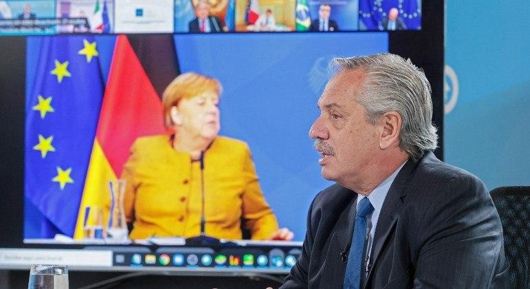 Líderes do G20 participaram de uma reunião virtual para discutir a crise humanitária no Afeganistão