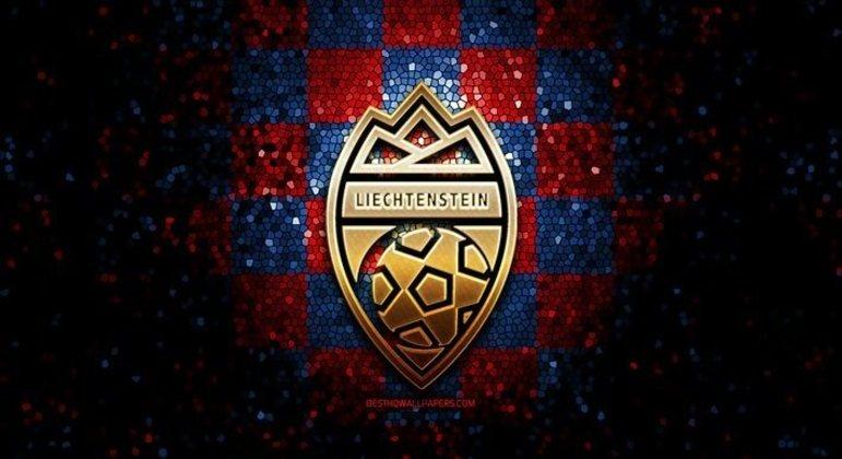 O distintivo da Federação do Liechtenstein