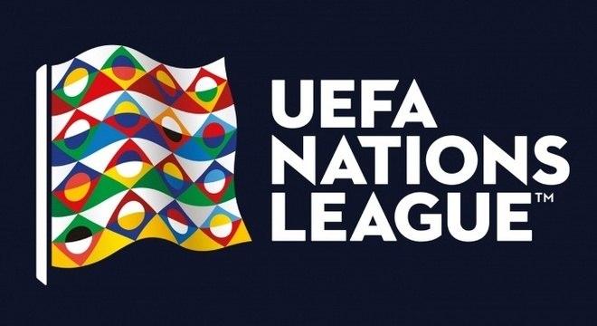 O logo da Liga das Nações