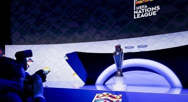 A taça da Liga das Nações