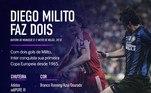 Outra Adidas foi protagonista na final seguinte, entre Inter de Milão e Bayern. Naquela decisão, vencida pelos italianos por 2 a 0, Diego Milito colocou o jogo no bolso e marcou os dois gols da partida, ambos com umaadiPURE III nos pés