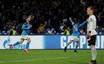 Liga dos Campeões, Napoli x Barcelona