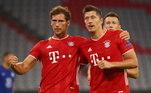 Bayern de Munique entrou em campo, neste sábado (8), para enfrentar o Chelsea em busca de virar o placar de 4 a 0 na primeira partida contra ingleses