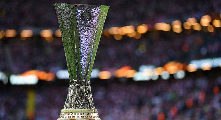 O troféu da Liga Europa