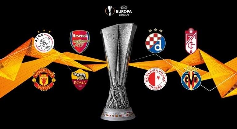 Os oito remanescentes da Liga Europa