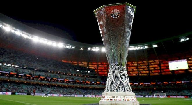 A taça da Liga Europa