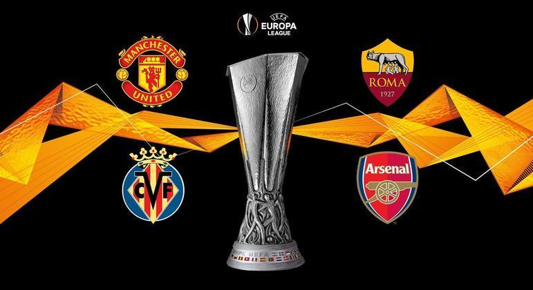 Os quatro semifinalistas da Liga Europa
