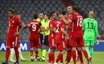 O Bayern de Munique agora se prepara para enfrentar o Barcelona na próxima semana