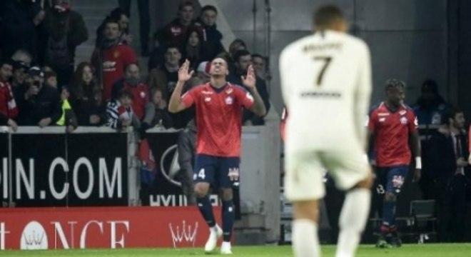 O Lille venceu de forma histórica o PSG