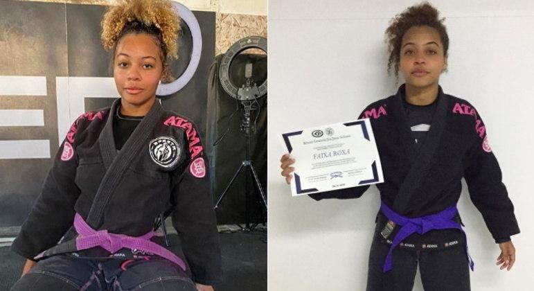 Além do lado artístico, Lily também brilha como lutadora. A jovem pratica jiu-jitsu e ganhou vários campeonatos na modalidade esportiva