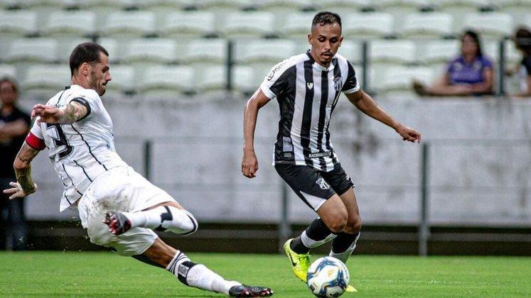 Lima (atacante - 24 anos) - Pertence ao Grêmio e está emprestado ao Ceará somente até 28/2 - Vem fazendo bom Brasileirão