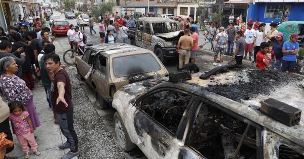 Sobe para 14 o número de mortos em explosão de gás em Lima
