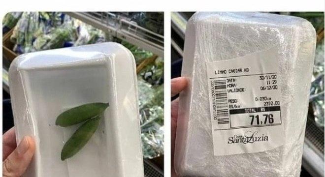 Limão caviar é vendido a R$2.392 o kilo no Santa Luzia