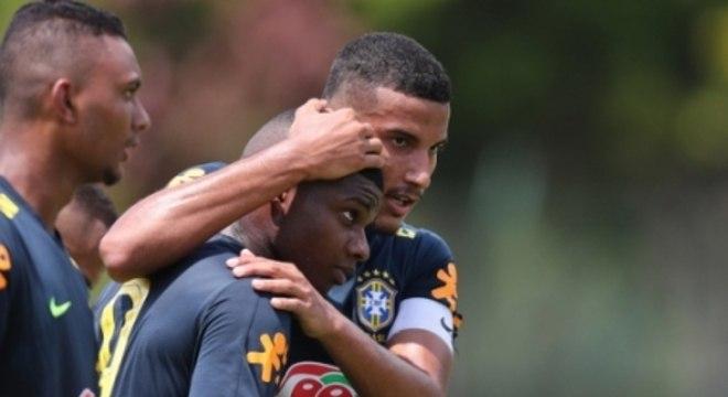 Lincoln era figura frequente nas seleções brasileiras de base- Seleção Sub-20
