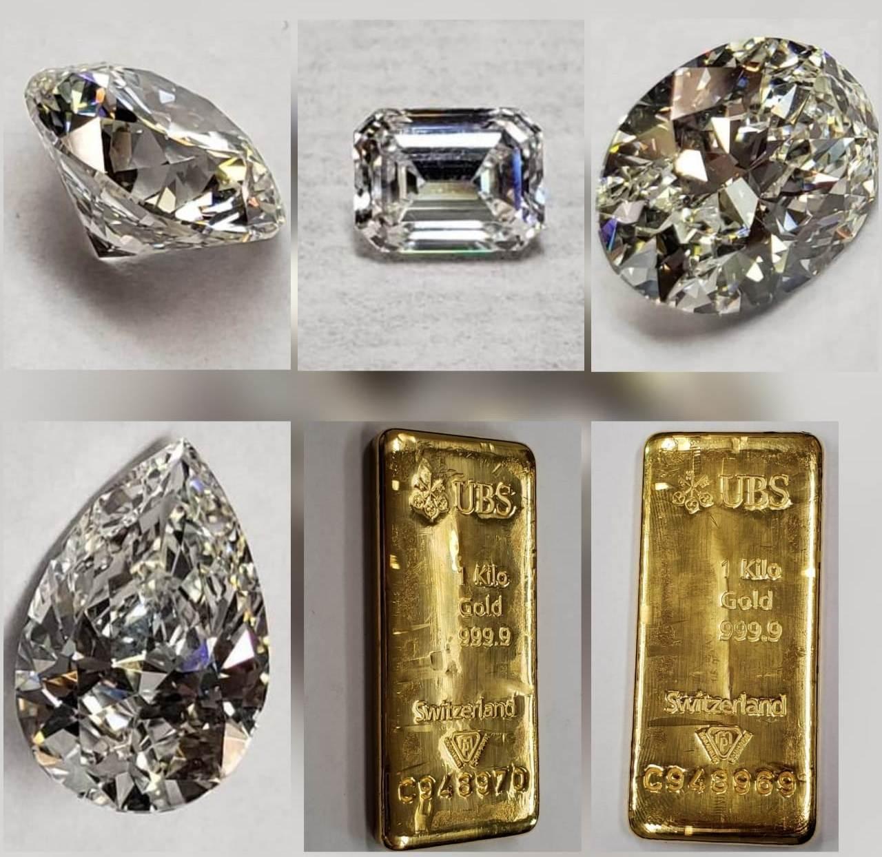 Barras de ouro e diamantes que pertenciam a Sérgio Cabral serão leiloados