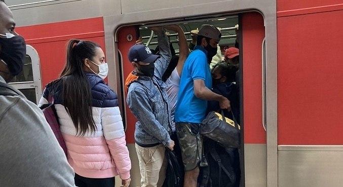 Usuários da Linha-7 Rubi, da CPTM, Problema técnico enfrentaram lentidão em 13 de maio