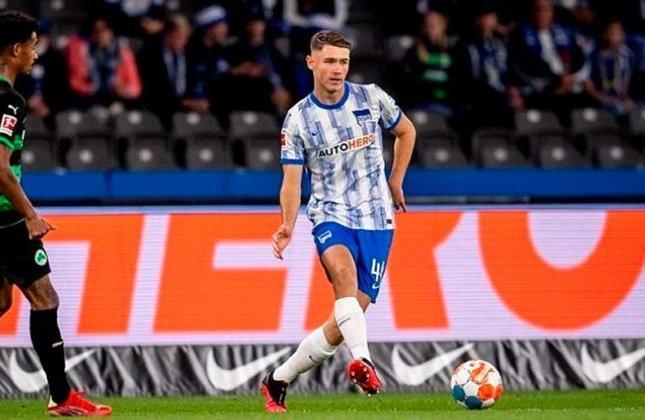 Linus Gechter (Alemanha) - Clube: Hertha Berlim (Alemanha) - Posição: Zagueiro