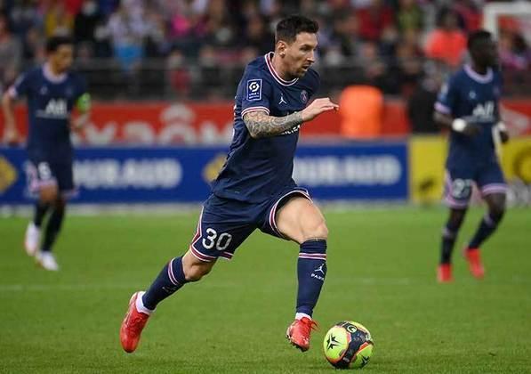 Lionel Messi - 34 anos - PSG - Atacante: um dos maiores jogadores da história e fez sua estreia com a camisa do PSG no último domingo (30).