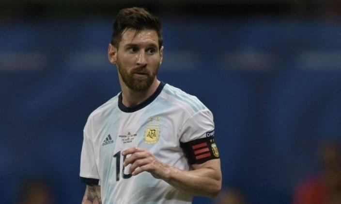 Lionel Messi: 73 gols em 146 jogos pela seleção da Argentina.