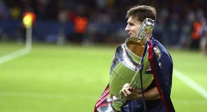 Último prêmio de melhor do mundo de Messi foi no ano de seu último título da Champions