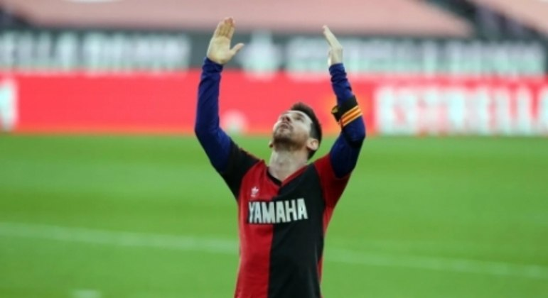 Lionel Messi - Barcelona - Homenagem a Maradona - Camisa Newell