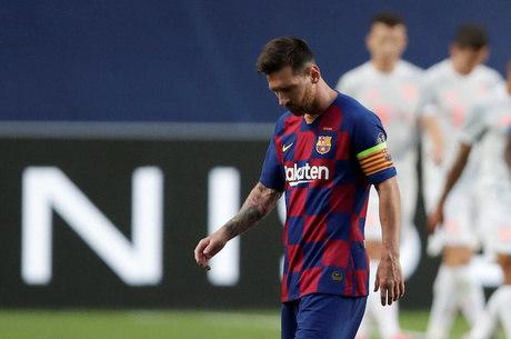 Messi passou em branco na partida no Estádio da Luz