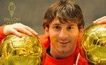 Lionel Messi, Bola de Ouro 2010