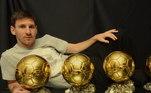 Lionel Messi, Bola de Ouro 2012