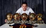 Lionel Messi, Bola de Ouro 2015