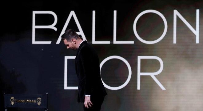 Lionel Messi venceu a Bola de Ouro mais uma vez nesta segunda-feira