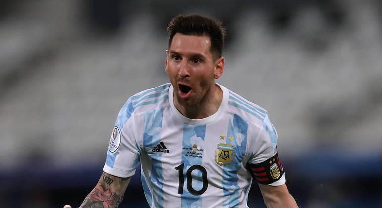 Lionel Messi, Copa América 2020,
