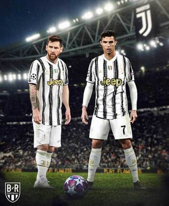 Lionel Messi fazendo a dupla com Cristiano Ronaldo na Juventus?