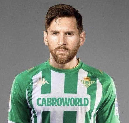Lionel Messi jogando pelo Betis?