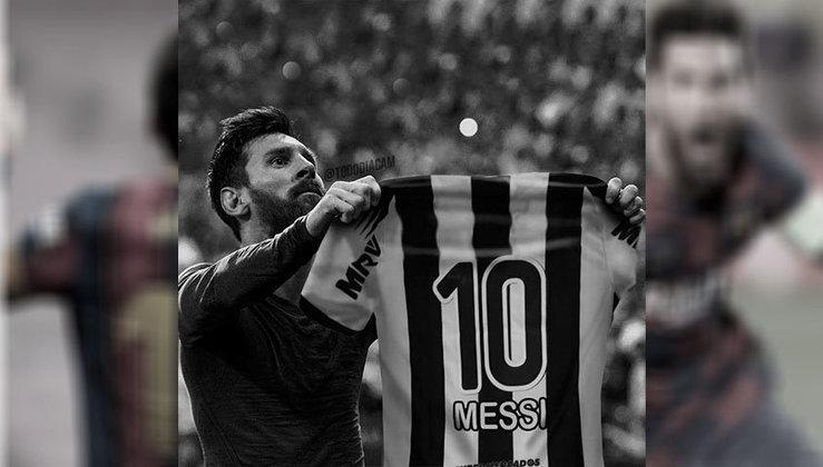Lionel Messi no Atlético-MG