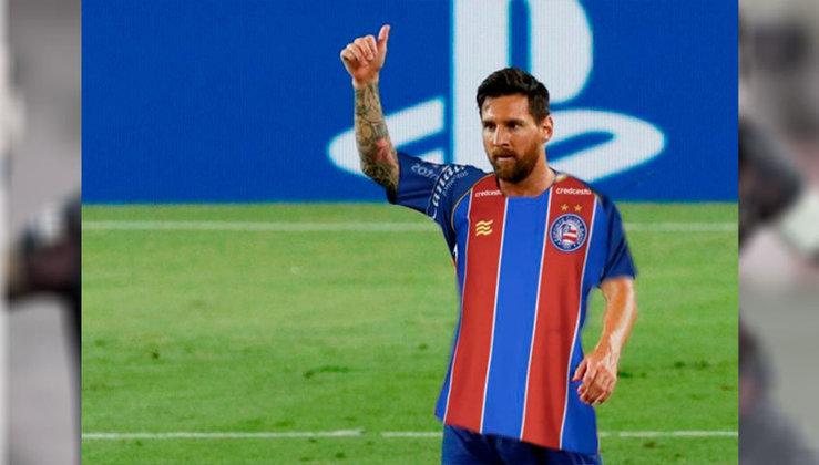 Lionel Messi no Bahia